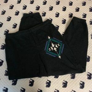 Tribal Print Sweatpants